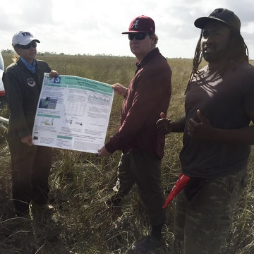 FCE LTER Mid-term Review field trip to TS/Ph-1b in Taylor Slough