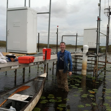 Assistant Professor and FCE Co-PI, John Kominoski and collaborators, Chris McVoy and Jim Brock, are investigating the foundational role of floc in the structural and functional attributes of the ridge and slough ecosystems of the Central Everglades