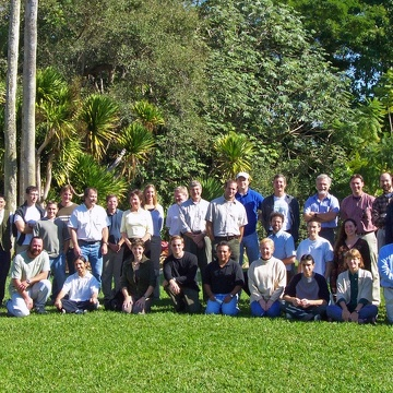 Group photo from the 2003 Florida Coastal Everglades LTER All Scientists Meeting