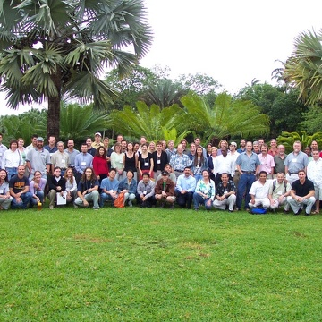 Group photo from the 2004 Florida Coastal Everglades LTER All Scientists Meeting